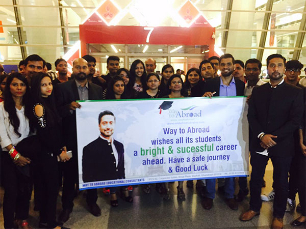 Airport Picture With MBBS Student - Way To Abroad