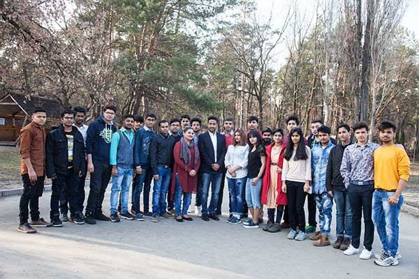Bogomolets Students - Study MBBS in Ukraine