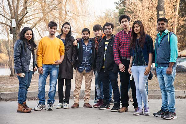 Group of Indian Students - Study MBBS in Ukraine